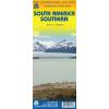 Dél-Amerika déli része térkép - ITM