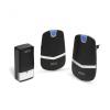 delight Digitális elem- és vezeték nélküli csengő - Kinetic (55342BK-2)