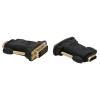 delight DVI dugó- HDMI aljzat aranyozott 05740