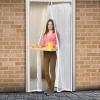delight Szúnyogháló függöny ajtóra mágneses 100x210cm fehér (Szúnyogháló)