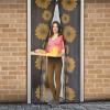 delight Szúnyogháló függöny ajtóra mágneses 100x210cm napraforgós (Szúnyogháló)