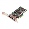 Dell Broadcom 5719 Quad Port Gigabit Ethernet NIC PCIe Full Height (BC5719QPPCIE)