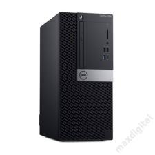 Dell DELL PC Optiplex 7060 MT, Intel Core i7-8700 (4.60GHz), 8GB, 1TB HDD, Win 10 Pro asztali számítógép