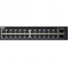 Dell Networking X1026 Smart Web Managed Switch 24x 1GbE + 2x 1GbE SFP ports