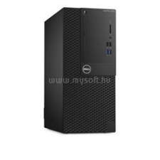 Dell Optiplex 3050 Mini Tower | Core i5-7500 3,4|8GB|500GB SSD|2000GB HDD|Intel HD 630|W10P|3év (N030O3050MT_UBU-11_W10PS500SSDH2TB_S) asztali számítógép