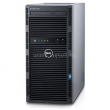 Dell PowerEdge T130 Tower H330 | Xeon E3-1220v6 3,0 | 8GB | 2x 250GB SSD | 1x 4000GB HDD | nincs | 3év (DPET130-70_S2X250SSDH4TB_S) szerver