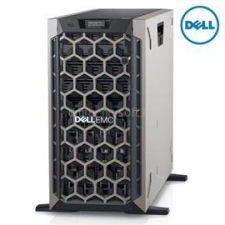 Dell PowerEdge T440 Tower H730P+ 1x 4208 2x 495W iDRAC9 Enterprise 8x 3,5 | Intel Xeon Silver-4208 2,1 | 64GB DDR4_RDIMM | 2x 250GB SSD | 1x 1000GB HDD szerver