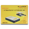 DELOCK 3.5 1 x 2.5 SATA HDD / SSD Mobile Rack