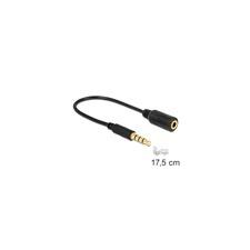 DELOCK 62498 sztereó jack 3.5 mm 4 pin - sztereó dugó 3.5 mm 4 pin kábel audió/videó kellék, kábel és adapter