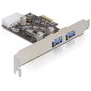 DELOCK 89243 PCI Express kártya > 2x USB 3.0