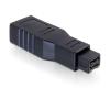 DELOCK Adapter FireWire 9pin male -> 6pin female (