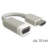 DELOCK Átalakító HDMI-A male to VGA female