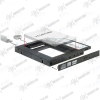 """DELOCK Átalakító Slim SATA 5.25 beépítő keret 2.5"""" SATA HDD-hez 12.5mm-ig"""