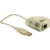 DELOCK Átalakító USB 2.0 to 10/100 LAN