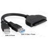 """DELOCK Átalakító USB 3.0 to SATA3 for 2.5"""""""