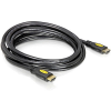 DELOCK Cable High Speed HDMI Ethernet - A male / male 3,0m