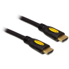 DELOCK Cable High Speed HDMI with Ethernet - HDMI-A male HDMI-A male 4K 0.5m kábel