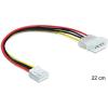 DELOCK Cable Power Molex 4 pin male > 3.5 floppy f
