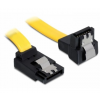 DELOCK Cable SATA 6 Gb/s up/down metal 20cm (82819)
