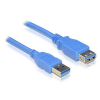 DELOCK Cable USB 3.0-A Extension male-female 2m