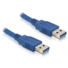 DELOCK Cable USB 3.0-A male / male 2m (82535)