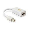 DELOCK Displayport mini -> HDMI M/F adapter 0.19m passzív fehér