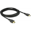 DELOCK High Speed HDMI with Ethernet HDMI A male > HDMI A male 4K 1 m