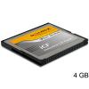 DELOCK ipari Compact Flash kártya (4 GB)