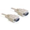 DELOCK kábel RS-232 soros Sub-D9 M/M  1 m