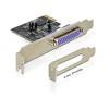 DELOCK PCI-E 1 x Párhuzamos port