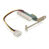 DELOCK PCI-E x1 -> PCI adapter