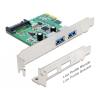 DELOCK PCI Express Card > 2 x USB 3.0
