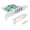 DELOCK PCI Express kártya -> 4x USB 3.0