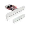 DELOCK PCI Express Kártya > 2 x Belső USB 3.0