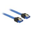 DELOCK SATA3 kábel 20 cm (kék)