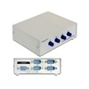 DELOCK serial switch 4 port, manuális