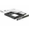 DELOCK Slim SATA 5.25 illesztő-keret 1 x 2.5 SATA HDD-hez