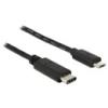 DELOCK USB 2.0 kábel C - Micro-B 1 m