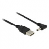 DELOCK USB-A 2.0 - DC 3.5 x 1.35 mm 90° 1,5 m