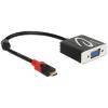DELOCK USB Type-C apa > VGA anya (DP Alt Mode) adapter