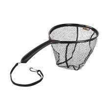 Delphin spin-r pergető merítő gumírozott-50x40cm háló, szák, merítő