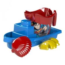 Dema Stil Superman hajós homokozó készlet, 4 részes homokozójáték