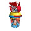 Dema Stil Superman kancsós homokozó készlet, 5 részes