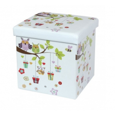 Design tárolós ülőke, 38x38, Bagoly papírárú, csomagoló és tárolóeszköz