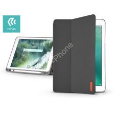 Devia Apple iPad 9.7 (2018) védőtok (Smart Case) on/off funkcióval, Apple Pencil tartóval - Devia Ease - black tok és táska