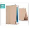 Devia Apple iPad Pro 10.5/iPad Air (2019) védőtok (Smart Case) on/off funkcióval - Devia Flax Flip - gold