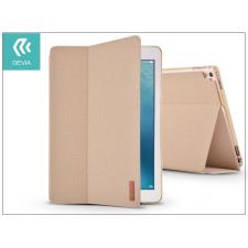 Devia Apple iPad Pro 10.5/iPad Air (2019) védőtok (Smart Case) on/off funkcióval - Devia Flax Flip - gold tablet tok