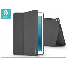 Devia Apple iPad Pro 10.5 védőtok (Smart Case) on/off funkcióval - Devia Flax Flip - black tablet tok