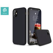 Devia Apple iPhone 11 szilikon hátlap - Devia Nature Series Case - black tok és táska