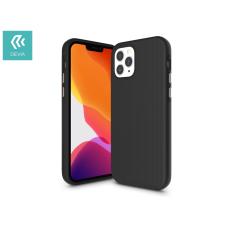 Devia Apple iPhone 12/12 Pro ütésálló hátlap - Devia Kimkong Series Case - black tok és táska